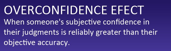 Overconfidence Effect